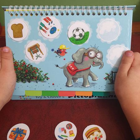 Plannen, plannen voor kinderen, picto, pictoplanner, ivy & oliver