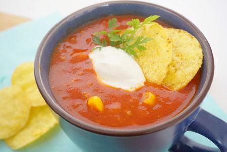 Mexicaanse soep.