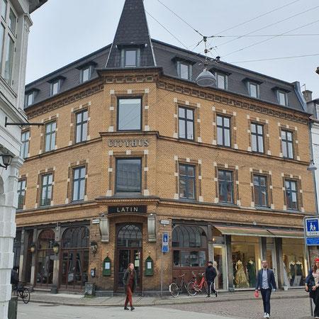 Shoppen in Aarhus, Latin Quarter.