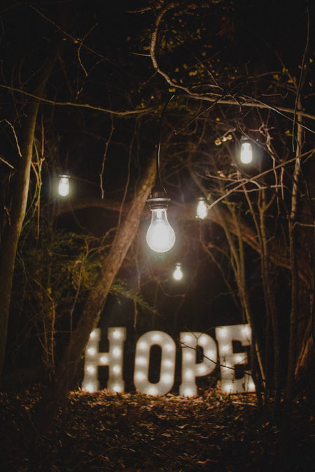 Tussen hoop en vrees.