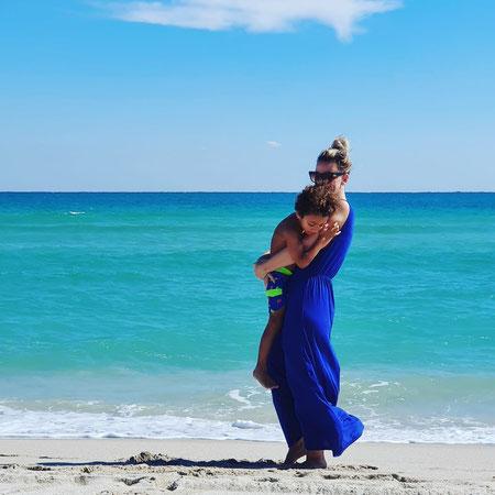 Miami strandvakantie, Geadopteerd uit Amerika.