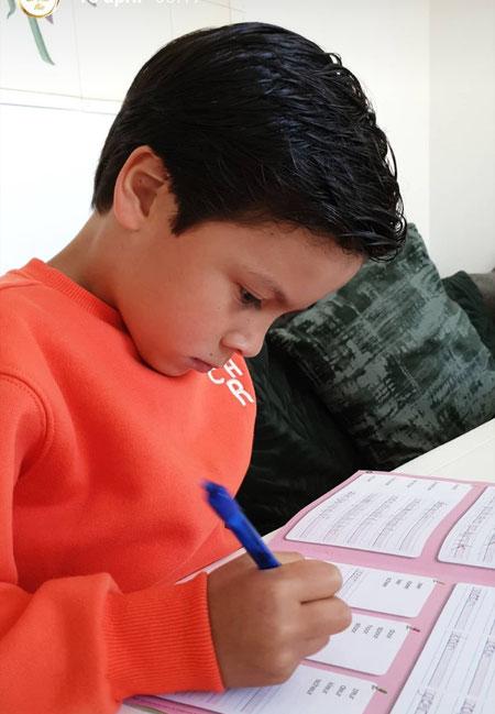Verschil in thuisonderwijs, veilig leren lezen.