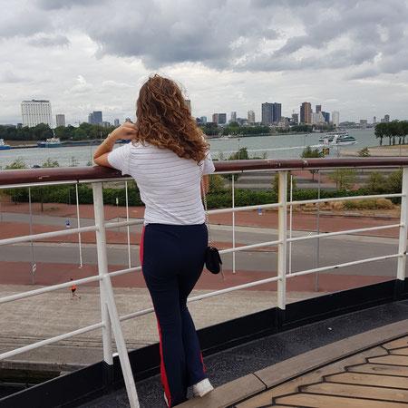 Slapen op de SS Rotterdam.