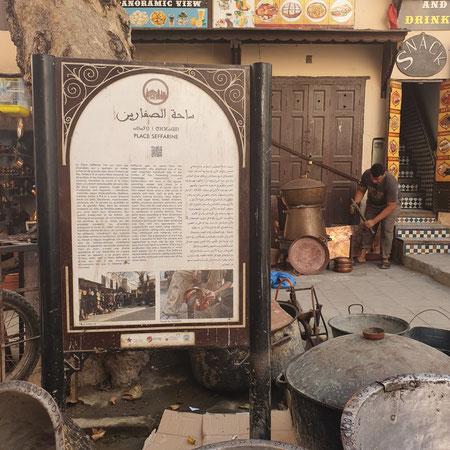 Place Seffarine, metaal, koper, fez, wat te doen in fez, handwerk