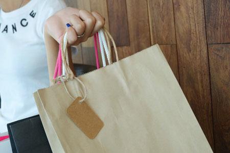 Winkelen, Koopverslaafd, Tasjes