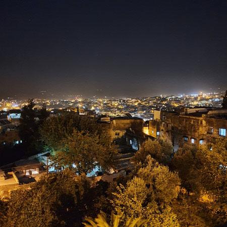 Medina, panorama, fez, riad alya