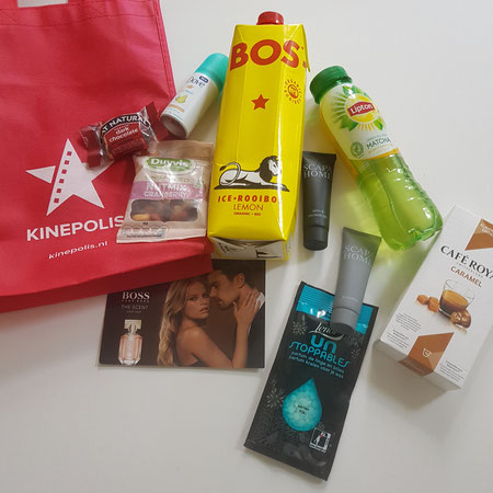 Goodiebag Kinepolis.