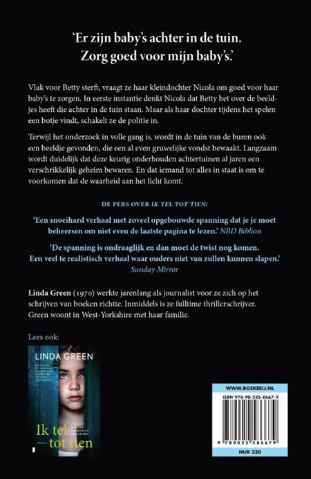 Linda Green, Thriller, Boekreview.