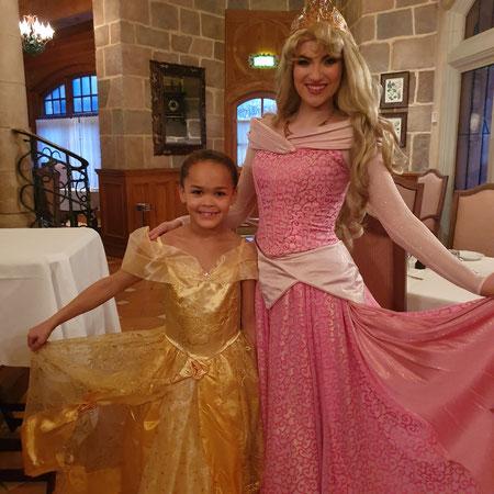 Hoe kan je prinses worden in Disneyland.