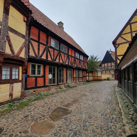 openluchtmuseum aarhus, wat te doen in aarhus, den gamle by, oud straatje.