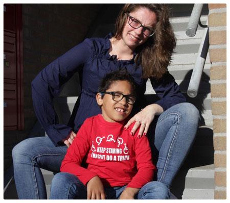 Mantelzorger, kind met handicap, pgb voor je kind aanvragen, cerebrale parase.
