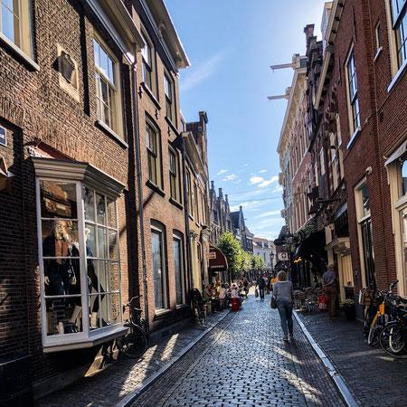 De straatjes van Haarlem.