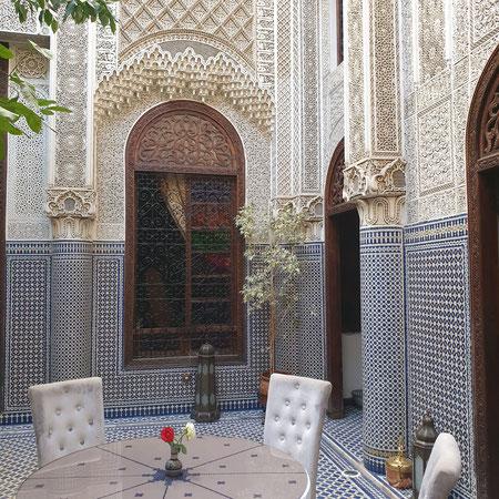 Ryad Alya, Fez, Fes, Marokko
