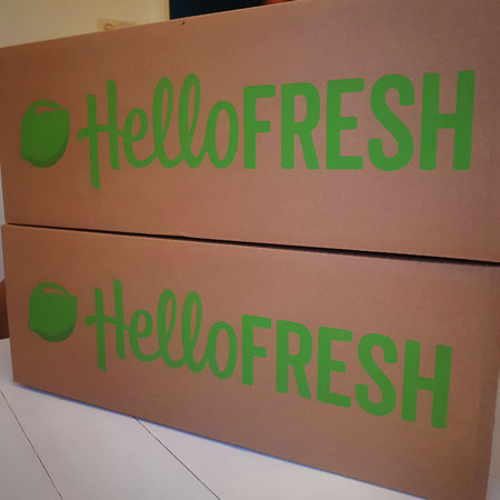 De box : Hello Fresh.