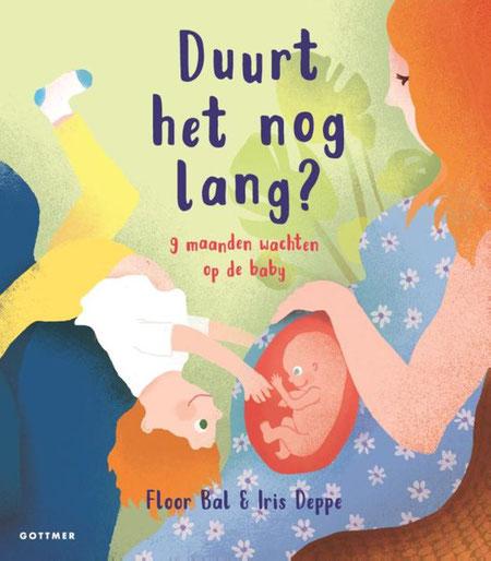 Prentenboek over zwangerschap.