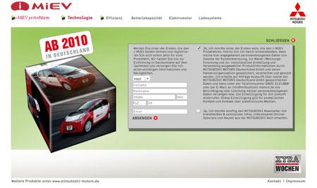 Mitsubishi iMiEV- probefahren
