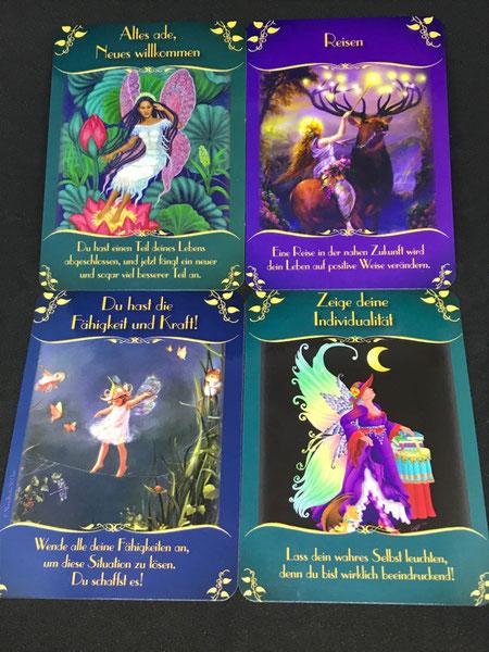 Das magische Orakel der Feen von Doreen Virtue auf Phönixzauber kostenlose Tagesbotschaft