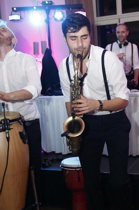 Saxophonist der Extraklasse