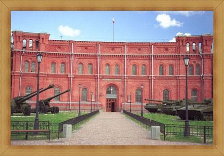 Артиллерийский музей основан Петром Первым в 1703 году.