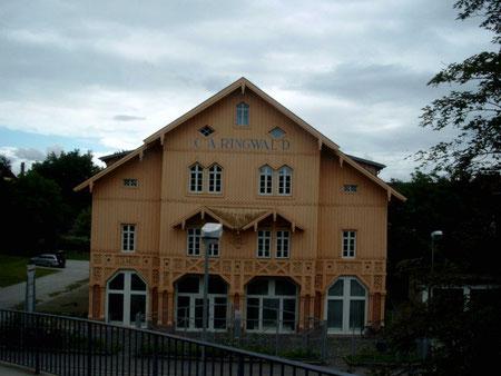 ehemaliger Tabakschopf Ringwald 2007 Jetzt Gründerzentrum