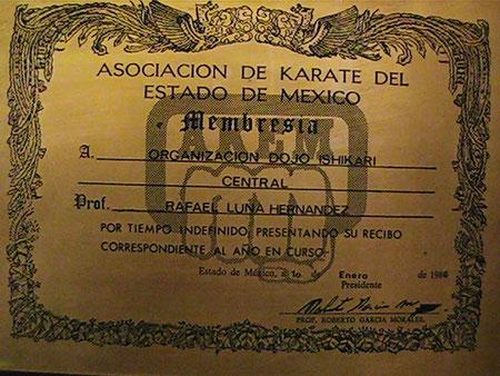 ASOCIACION DE KARATE DEL ESTADO DE MEXICO