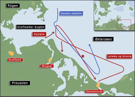La bataille de Rügen (cliquer sur l'image)