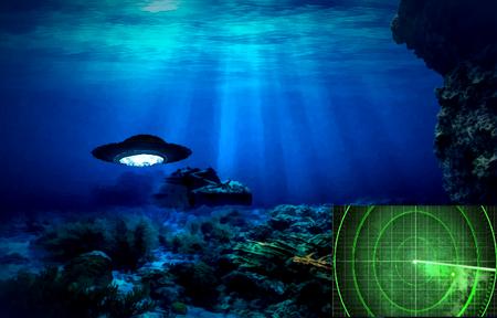 Es sind keine Wale und keine Spionage U-Boote. Was so manche Schiffsbesatzung auf dem Radar erkennt, hat nichts mit irdischer Technik zutun, wie es scheint.