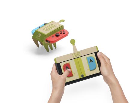 Eindruck zu Nintendo Labo für Nintendo Switch
