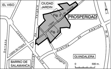 Figura 1. Situación y límites del primer asentamiento.