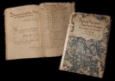Buch des Benno Charle von 1787