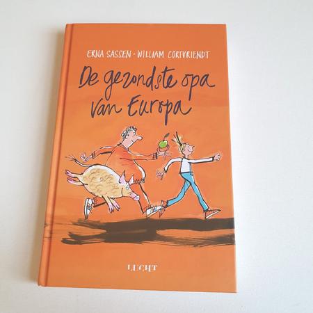 Erna Sassen, William Cortvriendt, kinderboek, de gezondste opa van Europa