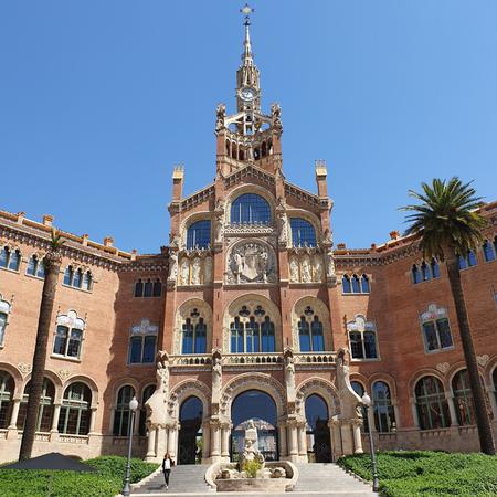 Sant Pau Hospital, Barcelona, Catalaanse modernisme, Sant Pau.