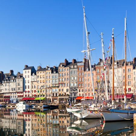 Havenstadje, Wat te doen in Normandië, Honfleur, Haven