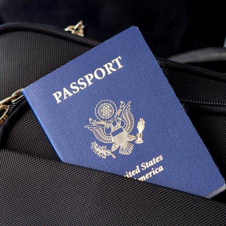 Amerikaans paspoort.