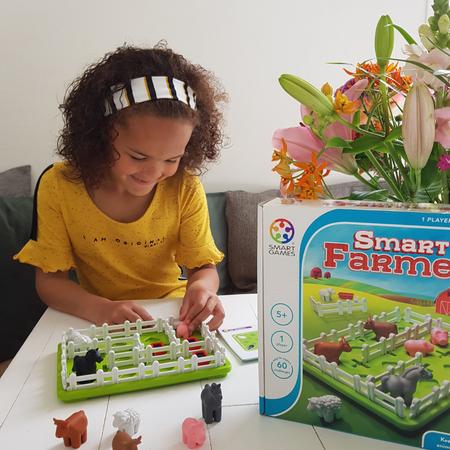 SmartGames, spellen voor kinderen, educatief, smartfarmer.