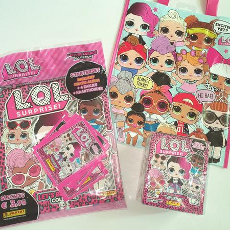 L.O.L stickeralbum, Panini, Stickers, Verzamelen.
