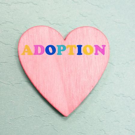 Adoptie, adopteren, hart.