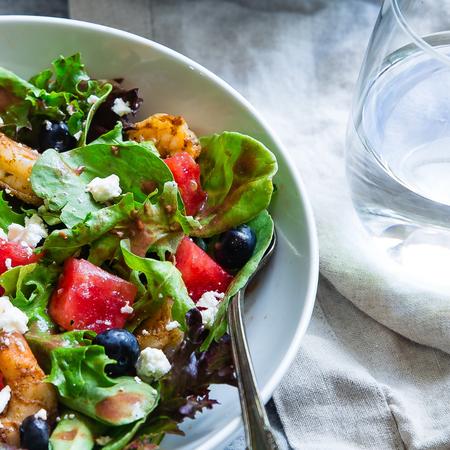 Salade, tips om een jetlag te voorkomen