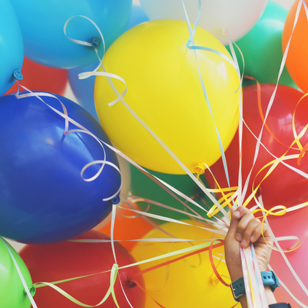Jarig, Ballonnen, verjaardag, Amerika