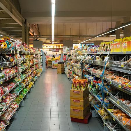 Supermarkt, Spaaracties,