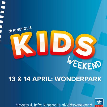 Kids weekend kinepolis, wonderpark.