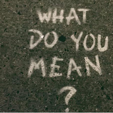 What do you mean? Graffiti, Vragen bij adoptie