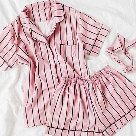 Roze pyjama