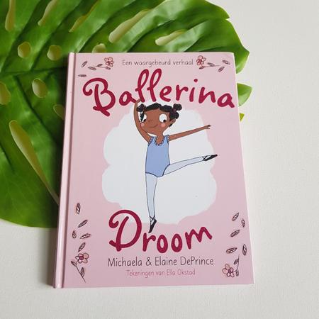 kinderboek, ballerina, ballerina droom, michaela deprince