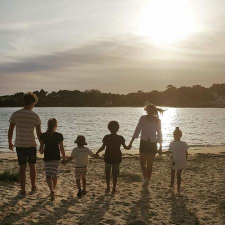 Namen kinderen, adoptie namen, kinderen op het strand, come on let's do this, zes kinderen