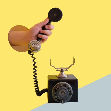 Telefoon, hand, webshop, hulp.