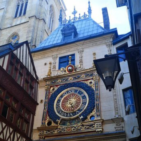 Rouen, Normandië, Gros Horloge