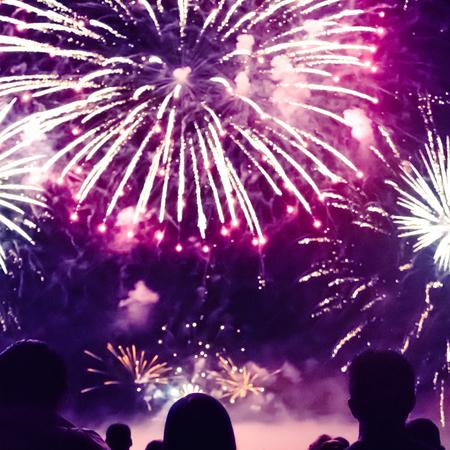 Vuurwerk, tradities, oud en nieuw