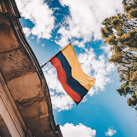 Adopteren uit Colombia, Adoptie, Colombiaanse vlag.