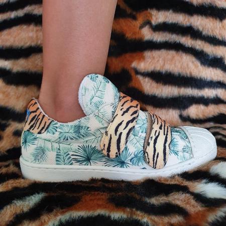 Bear & Mees, dierenprint, duurzaam schoenenmerk. kinderschoenen.